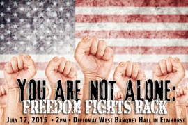 Join Walsh Freedom on July 12, 2015